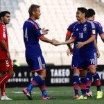 <サッカー日本代表>6ゴールでアフガンに完勝 2位浮上