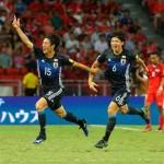 金崎夢生が日本代表初ゴール!日本、シンガポールに3-0完勝 再びE組首位に