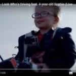 ボルボ、4歳児にトラックをリモコン操作させて頑丈さをアピール