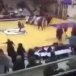 米高校バスケ、女子の試合で両チーム総出の大乱闘 重処分が科される