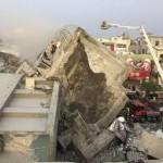 台湾南部地震、死者14人 行方不明者156人に