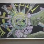 黒板は巨大なキャンバスだ! 高校生を対象とした「黒板アート甲子園」今春に初開催