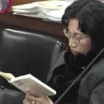審議中に読書・携帯・居眠り… 松島みどり元法相に批判