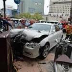 神戸車暴走 歩行者5人重軽傷 運転の男「覚えてない」