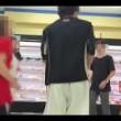 スーパーで踊る青学生