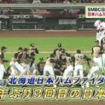 【日本シリーズ】日本ハム10年ぶり3度目日本一 レアード満塁弾など8回一挙6点