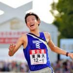 東海大10年ぶりV!青学大の3連覇阻む 出雲駅伝