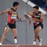 【世界リレー】日本、男子400mリレーでまさかのバトンパス失敗!!