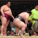 【貴景勝】4日目に右膝を負傷した瞬間!!