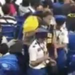 阪神ファンの子供投げつける動画が虐待だと批判殺到!